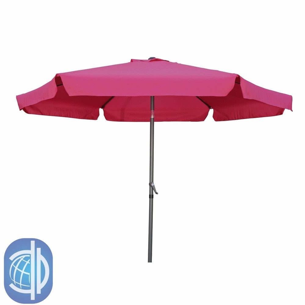 Fashionable Pink Patio Umbrellas Intended For International Caravan St. Kitts Jumbo  (View 6 of 20)