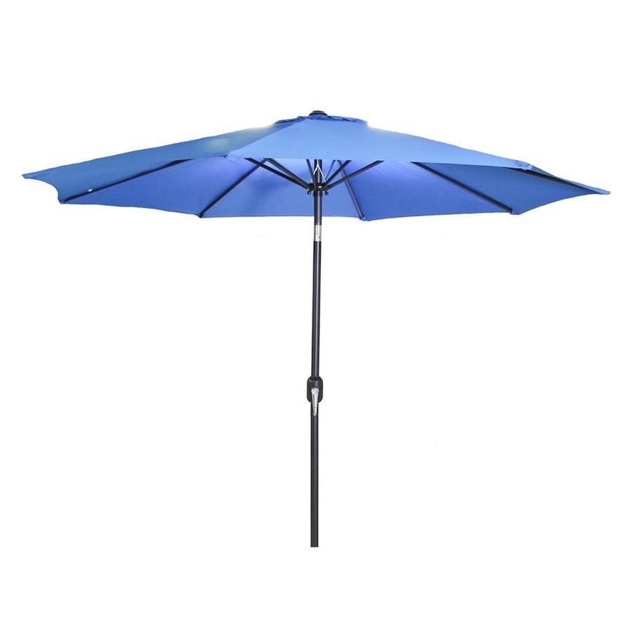 Fashionable Shop Jordan Manufacturing Royal Market 9 Ft Patio Umbrella At Lowes Inside Jordan Patio Umbrellas (View 3 of 20)