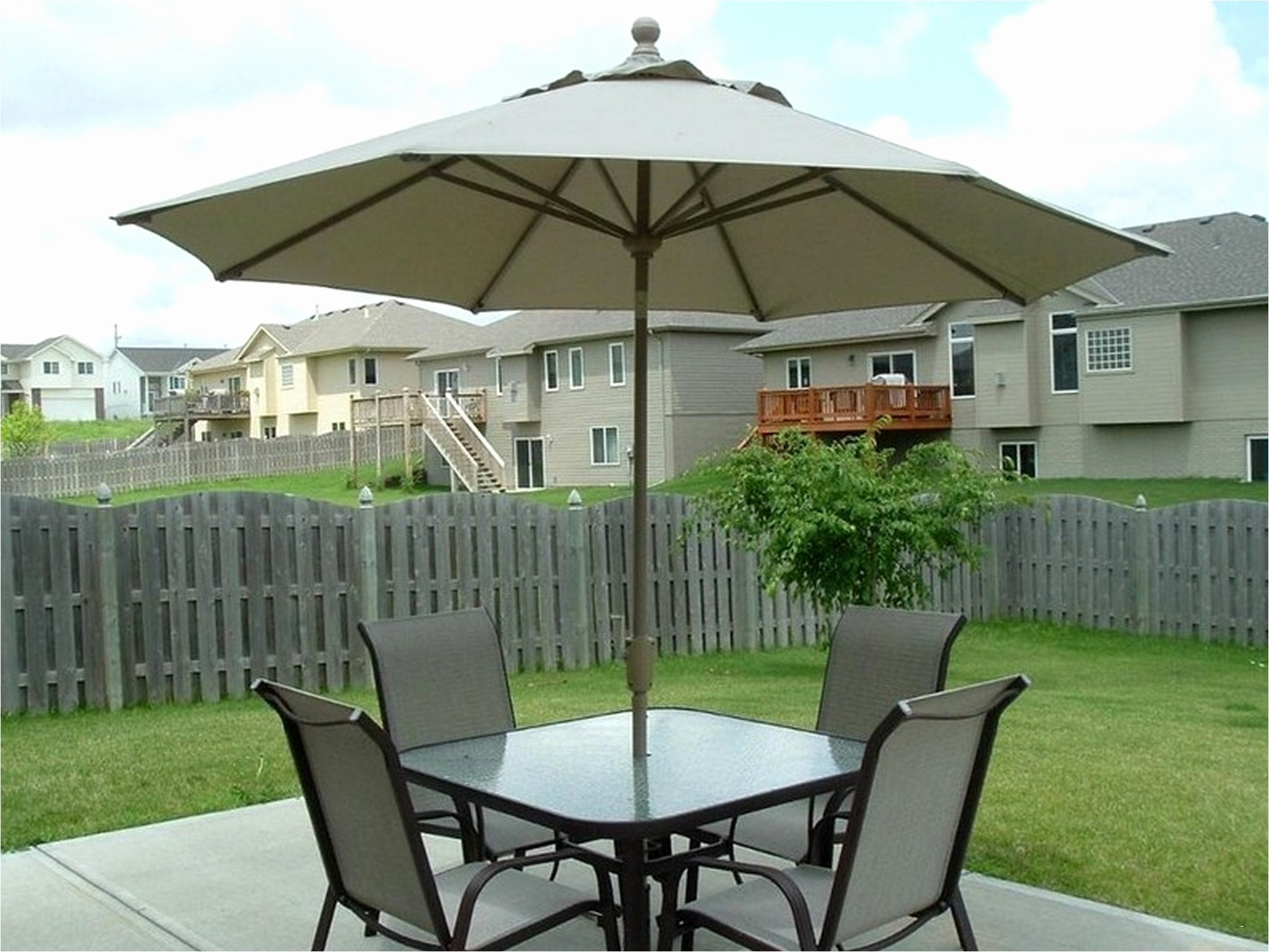 Fashionable Small Patio Tables With Umbrellas Hole With Patio Tables With Umbrella Hole Fresh Small Patio End Table Luxury (View 3 of 20)