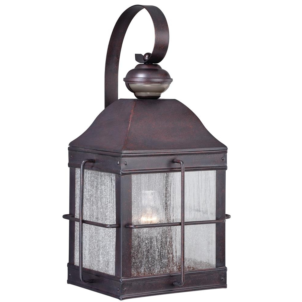 "Fashionable T0193 – Vaxcel Lighting T0193 Revere Dualux® 10"" Wall Light Royal With Quality Outdoor Lanterns (View 4 of 20)"