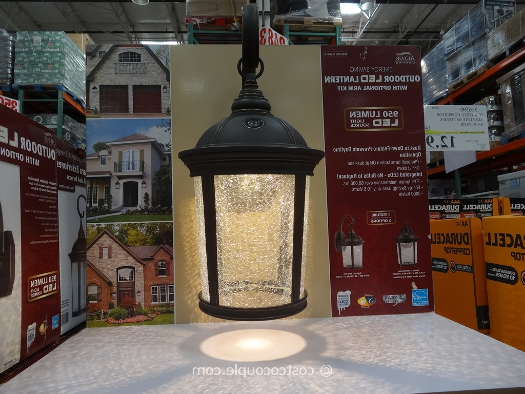 Favorite Altair Outdoor Led Lantern Within Outdoor Lanterns At Costco (View 15 of 20)