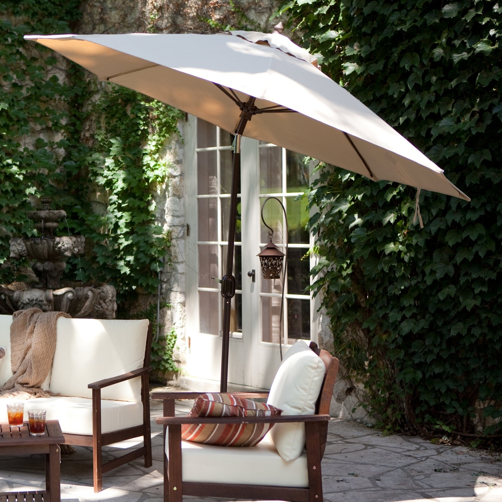 Favorite Free Standing Umbrellas For Patio Pertaining To Free Standing Umbrellas For Patio • Patio Ideas (Gallery 1 of 20)