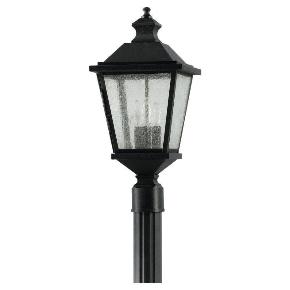 Favorite Large Outdoor Electric Lanterns For Electric Garden Post Lights Outdoor Pole Lanterns Pole Lantern (View 16 of 20)