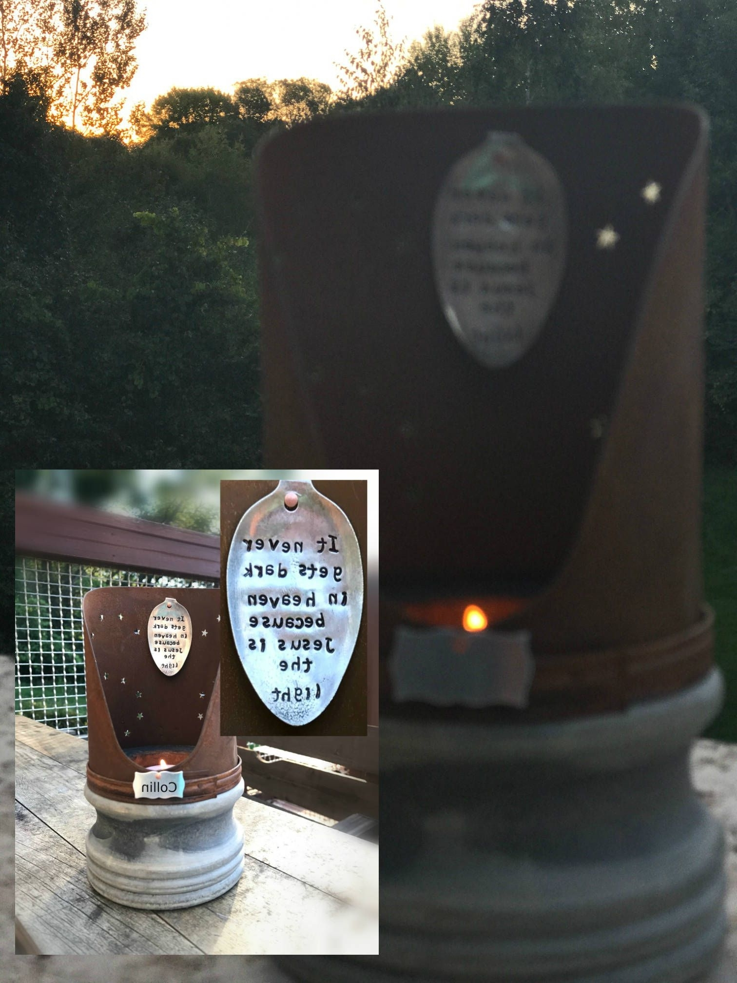 Favorite Memorial Lantern Vintage Inspired Eternal Light Candle Gift Indoor With Regard To Outdoor Memorial Lanterns (View 6 of 20)