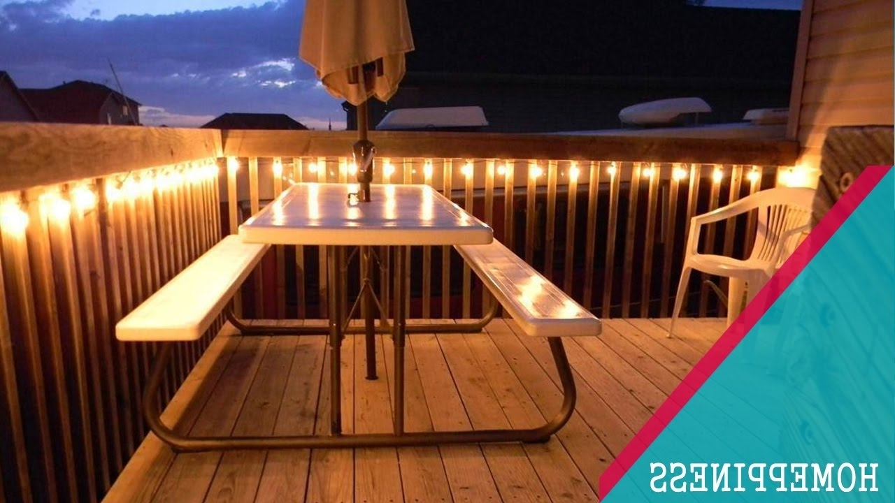 Favorite Outdoor Deck Lanterns With Regard To Astonishing Outdoor Deck Lighting Led Bathroom Accessories Set Is (Gallery 6 of 20)