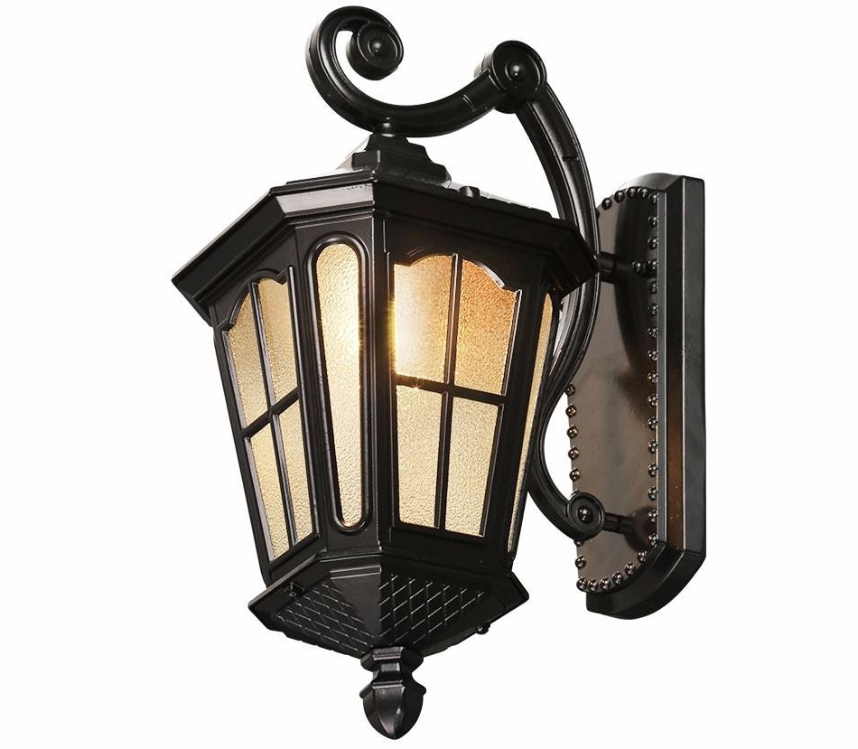 Favorite Outdoor Kerosene Lanterns With Regard To Best Antique Rustic Iron Waterproof Outdoor Wall Lamp Vintage (Gallery 12 of 20)