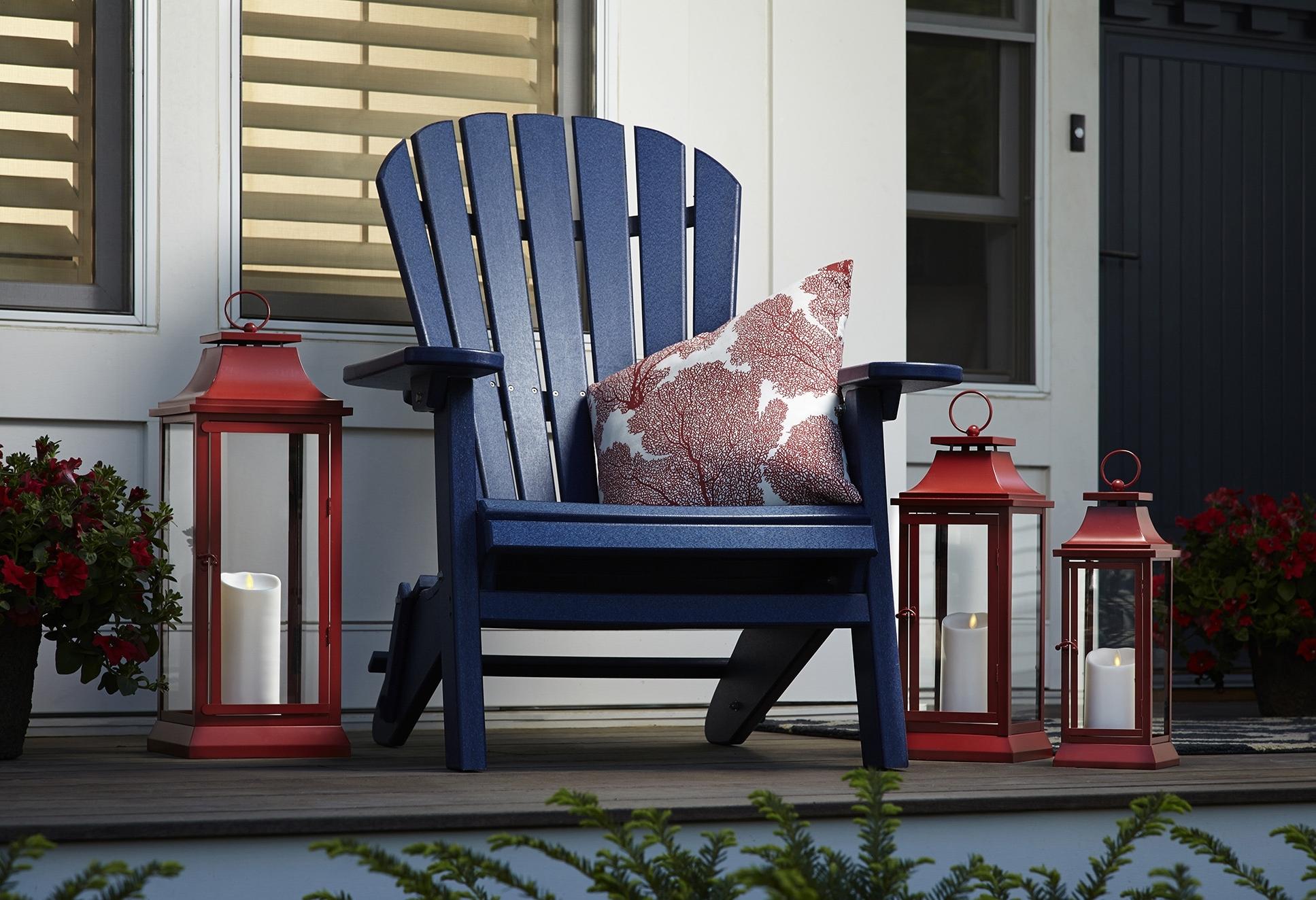 Favorite Outdoor Luminara Lanterns Throughout Luminara – Real Flame Effect Candles (View 3 of 20)