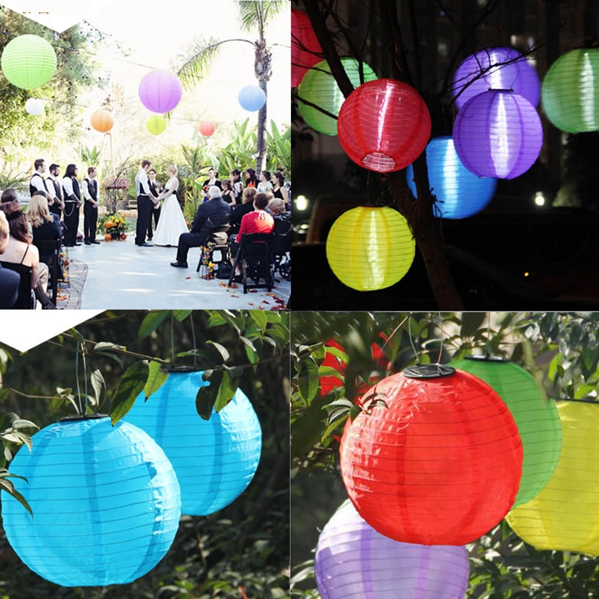 Favorite Outdoor Nylon Lanterns Throughout Halloween Party Led Nylon Lantern 44Cm Outdoor Solar Power Chinese (Gallery 10 of 20)