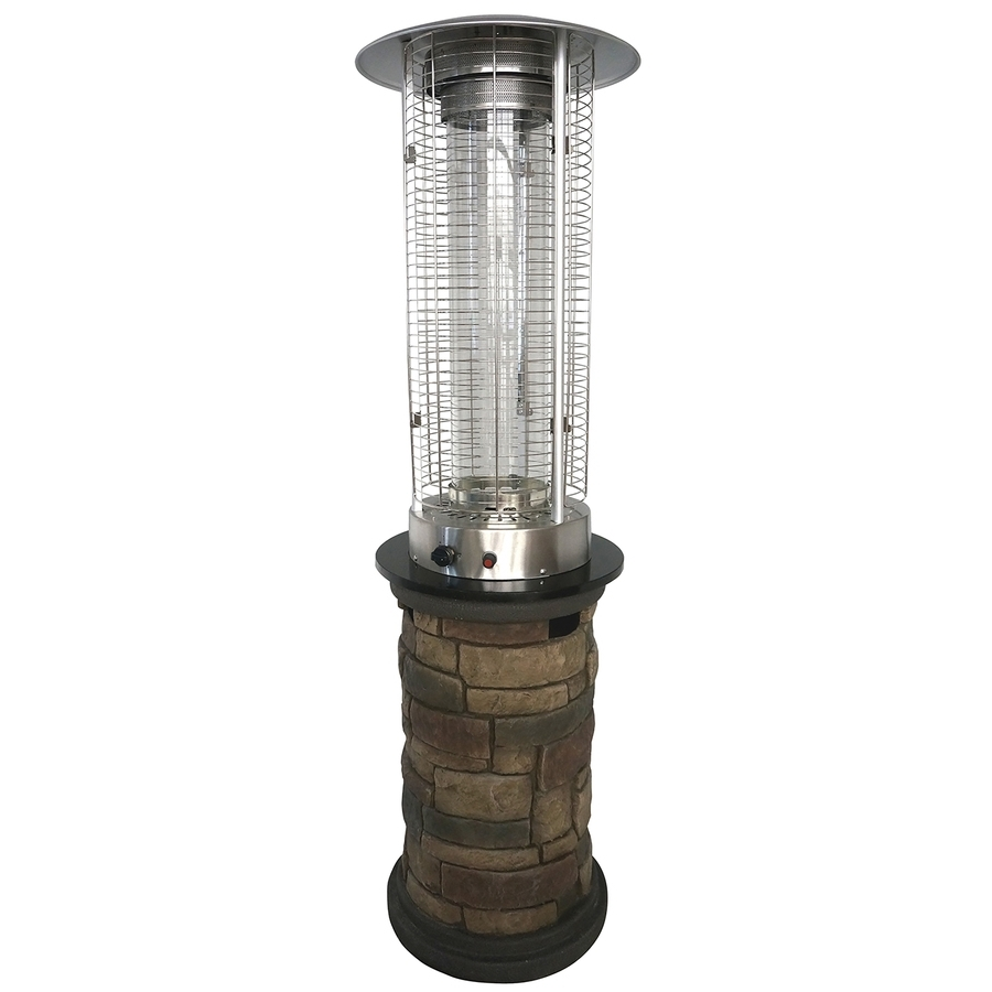 Favorite Outdoor Propane Lanterns With Regard To Shop Gas Patio Heaters At Lowes (View 3 of 20)