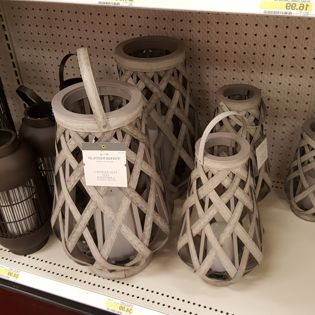 Favorite Outdoor Rattan Lanterns Throughout Last Minute Gifts For Mom From Target – Kimworld (View 9 of 20)
