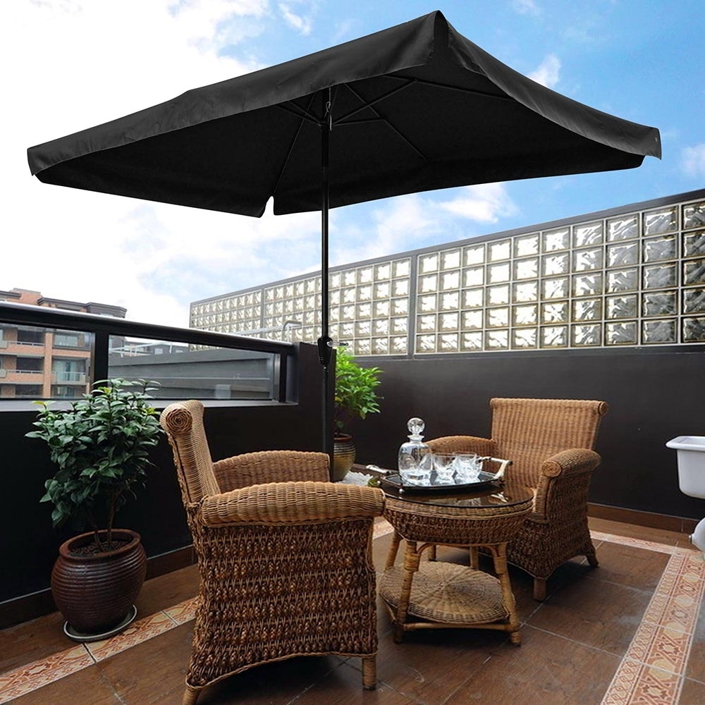 Favorite Rectangle Patio Umbrellas In Yescomusa: 10X (View 4 of 20)