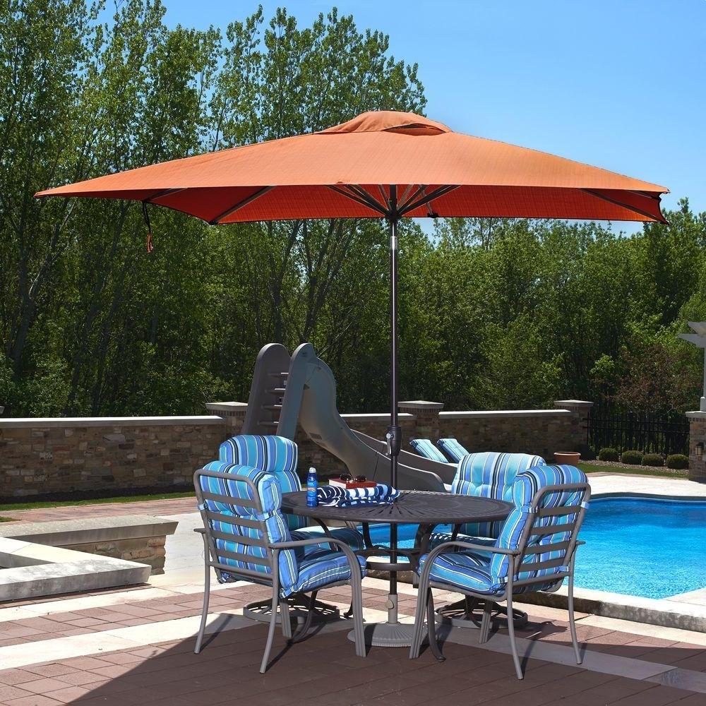 Featured Photo of Rectangular Patio Umbrellas