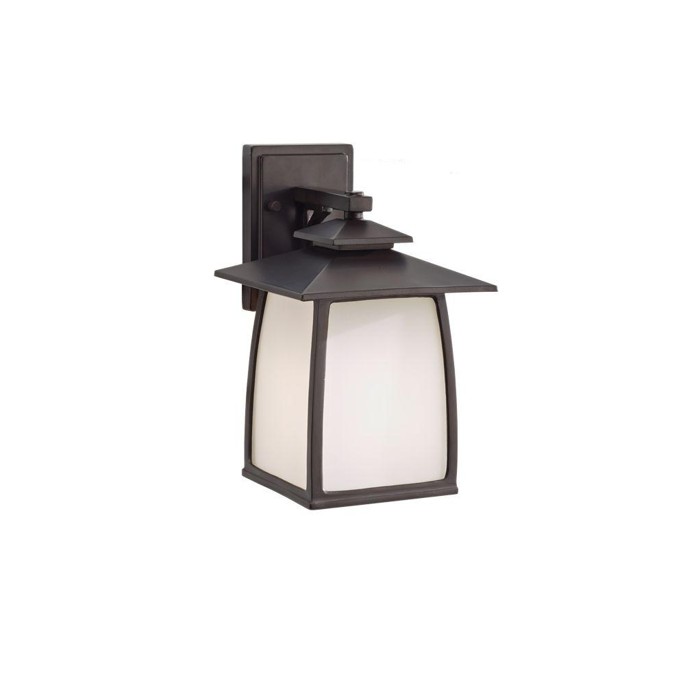 Feiss Wright House 1 Light Oil Rubbed Bronze Outdoor Wall Lantern Regarding 2018 Outdoor Oil Lanterns For Patio (View 4 of 20)