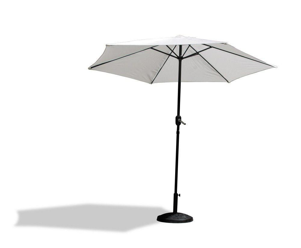 Fine Living – Vogue Patio Umbrella – White (View 20 of 20)