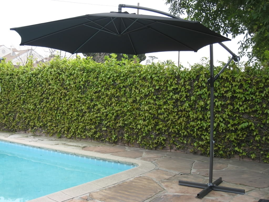 Free Standing Patio Umbrellas Regarding Well Known Comfy Free Standing Patio Umbrella F53X About Remodel Attractive (View 11 of 20)