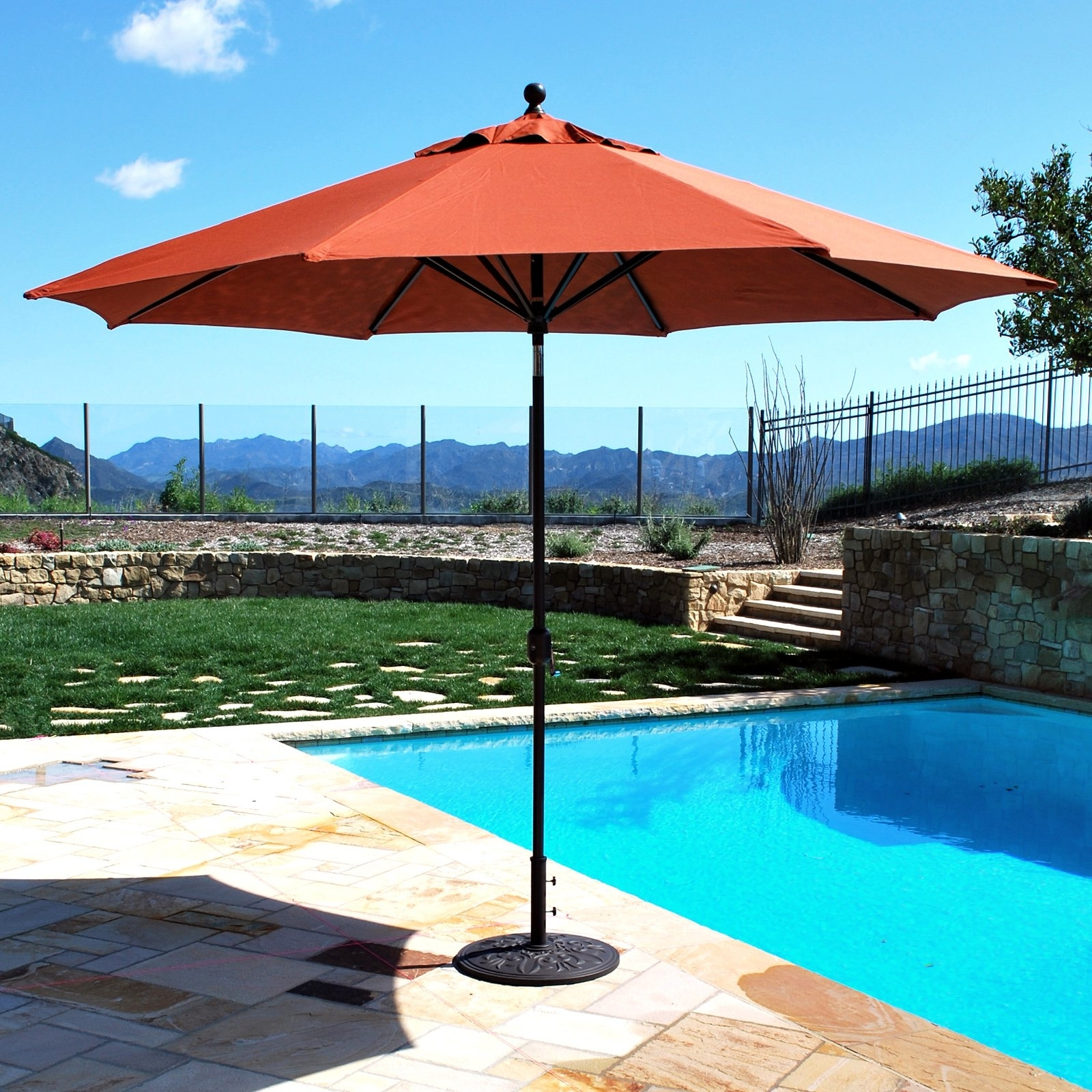 Galtech Sunbrella 11 Ft (View 10 of 20)