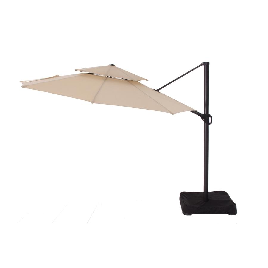 Garden Treasures Patio Umbrellas With Well Known Shop Garden Treasures Patio Umbrella At Lowes (Gallery 1 of 20)
