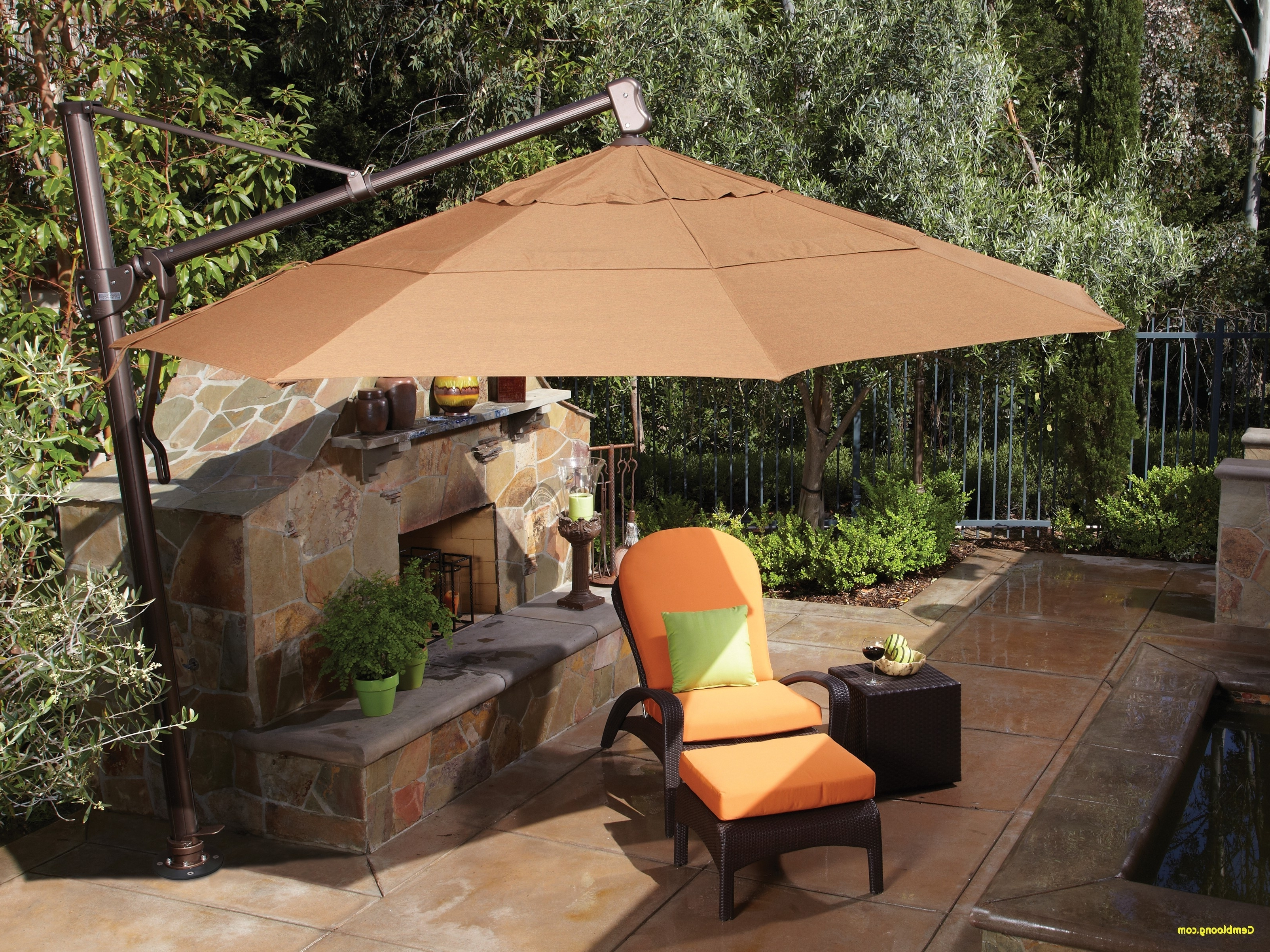 Garden Treasures Patio Umbrellas Within Preferred Patio Umbrella Replacement Parts Best Of Home Design Garden (Gallery 9 of 20)