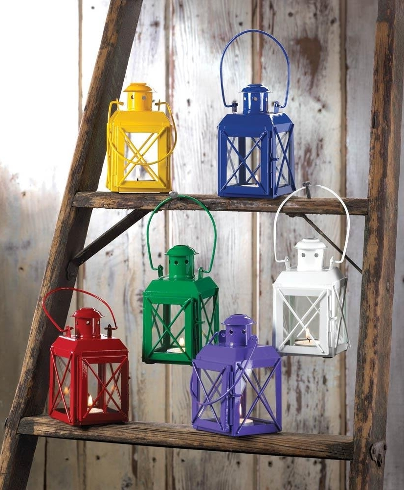 Glass Candle Lantern, Modern Decorations Hanging Candle Lanterns Pertaining To 2019 Yellow Outdoor Lanterns (View 2 of 20)