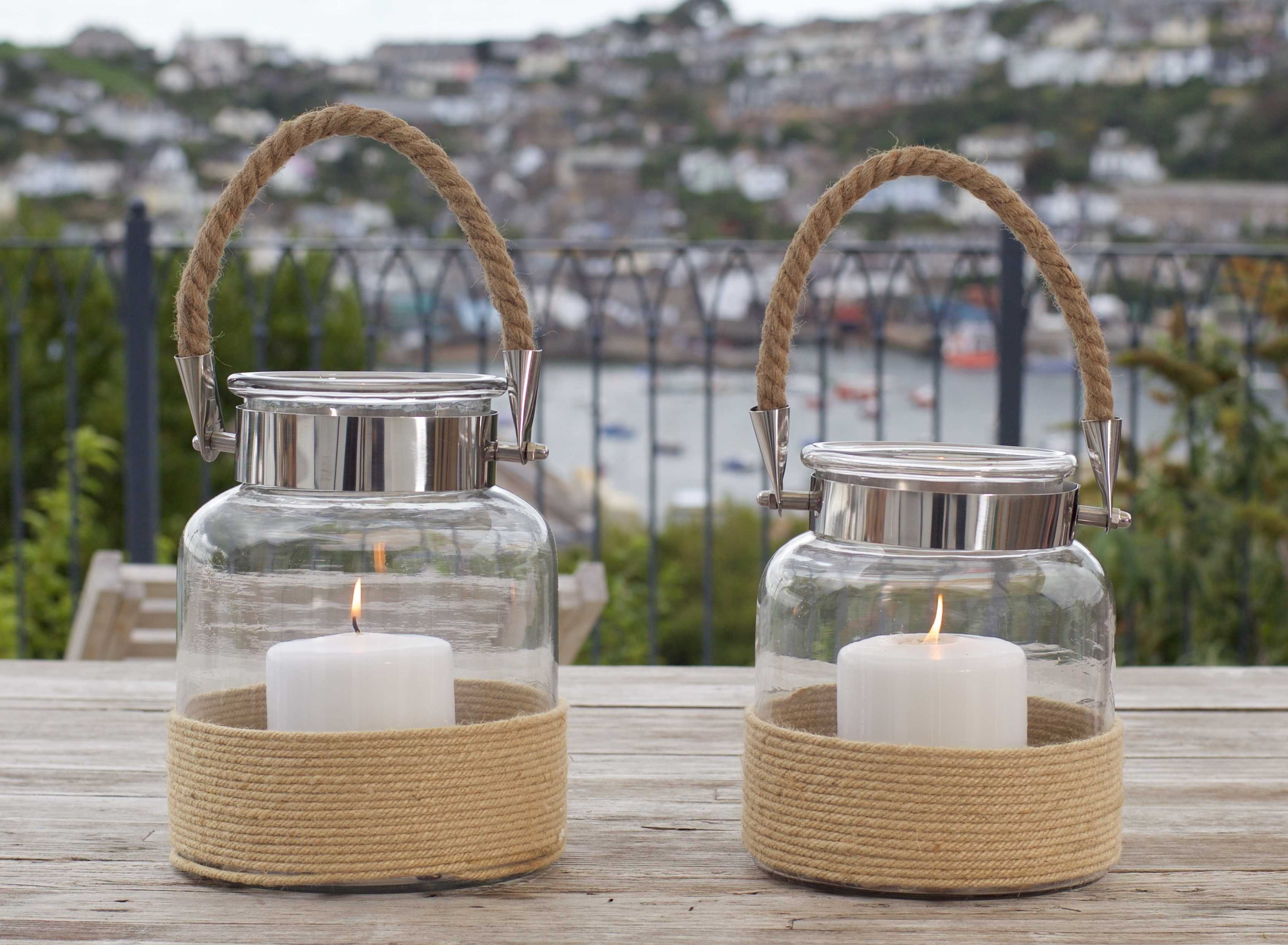 Glass Hurricane Lantern Salcombe – Zaza Homes With Regard To Well Liked Outdoor Storm Lanterns (View 5 of 20)