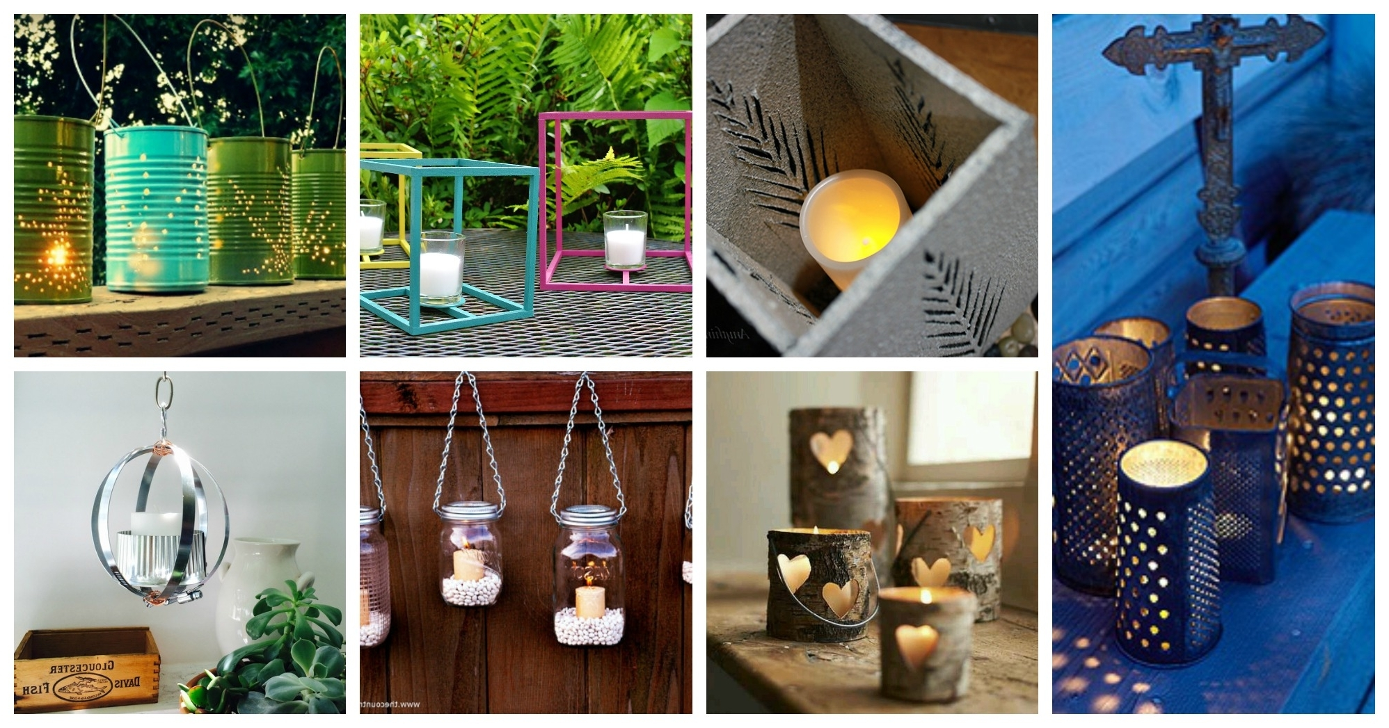 Gorgeous Diy Outdoor Lanterns To Make This Spring For Newest Diy Outdoor Lanterns (View 2 of 20)