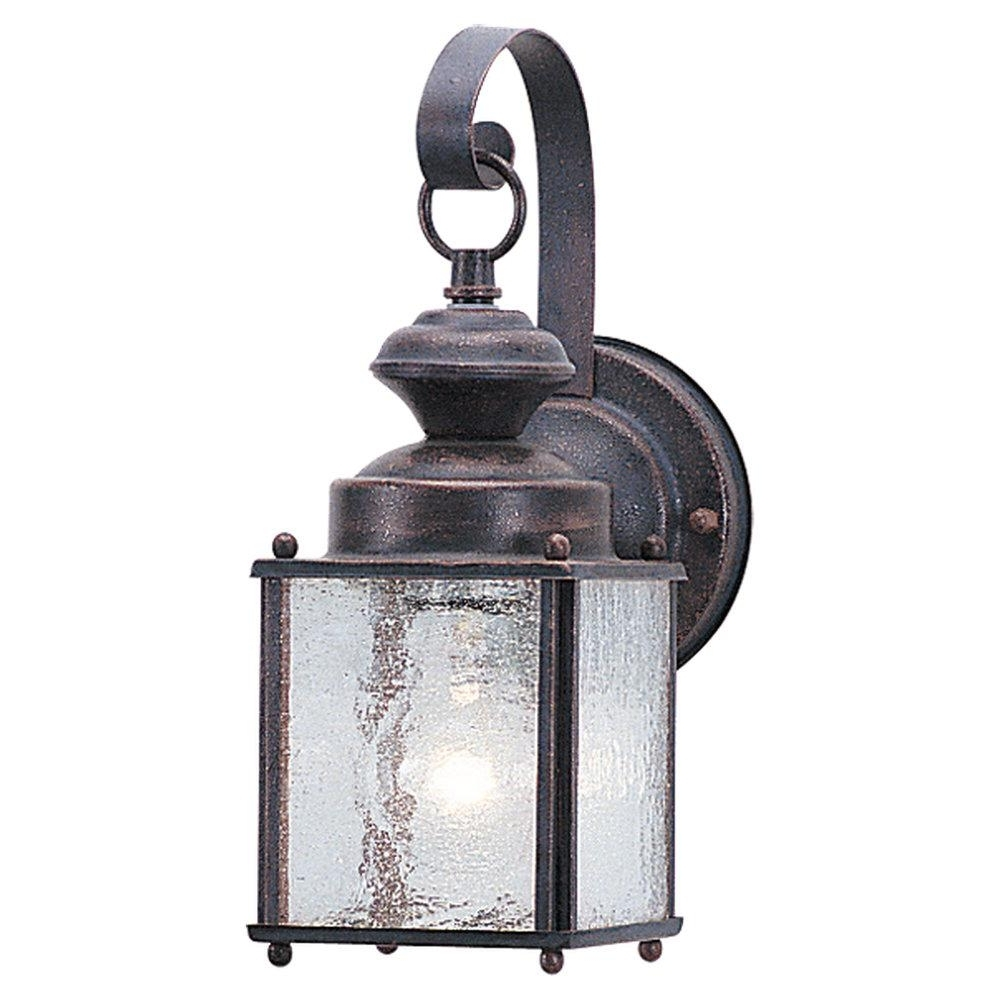 Hansen Lighting In Nickel Outdoor Lanterns (Gallery 20 of 20)