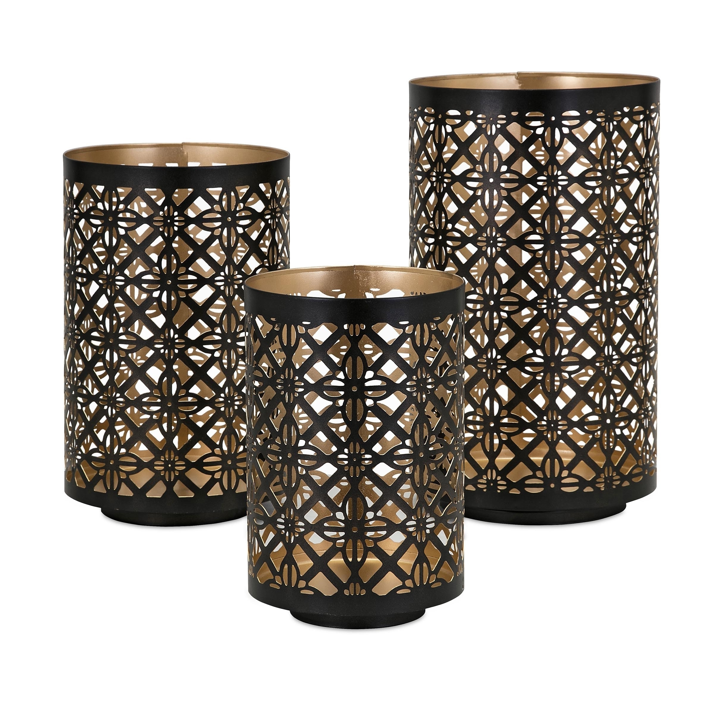 Helena Pierced Outdoor Lanterns (Set Of 3) – Free Shipping Today In Most Recent Set Of 3 Outdoor Lanterns (Gallery 18 of 20)