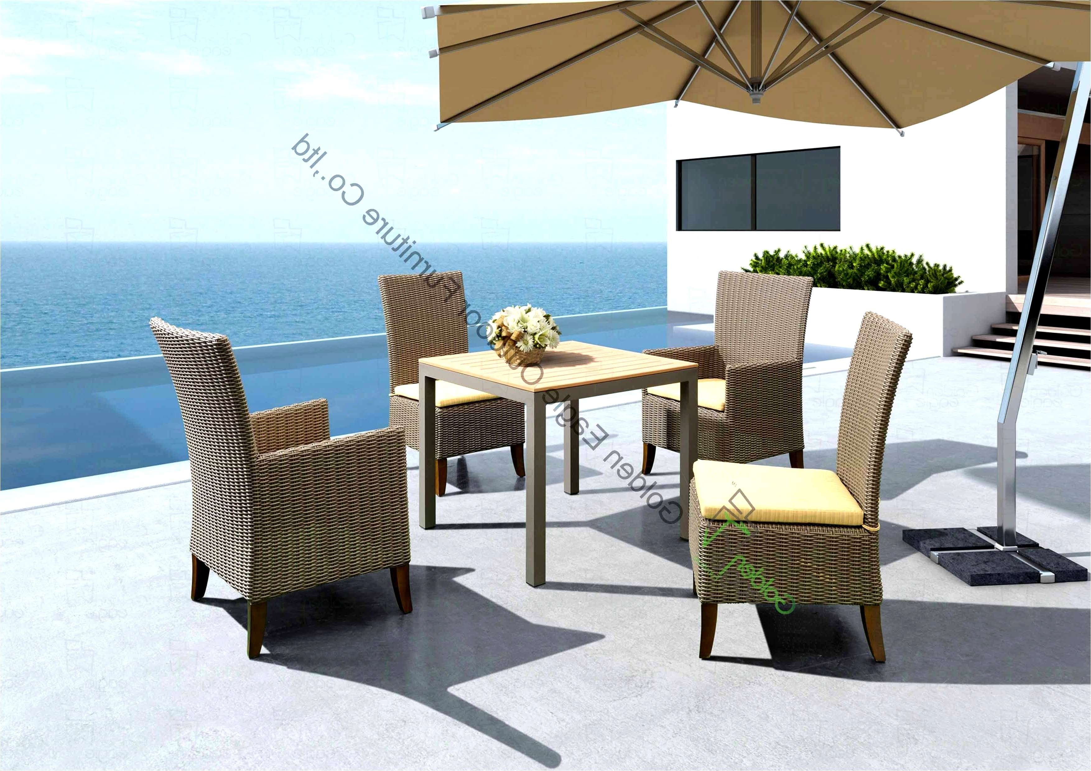 High End Patio Umbrellas Within Preferred Patio Umbrella The Bay New High End Outdoor Furniture Beautiful Wood (View 10 of 20)