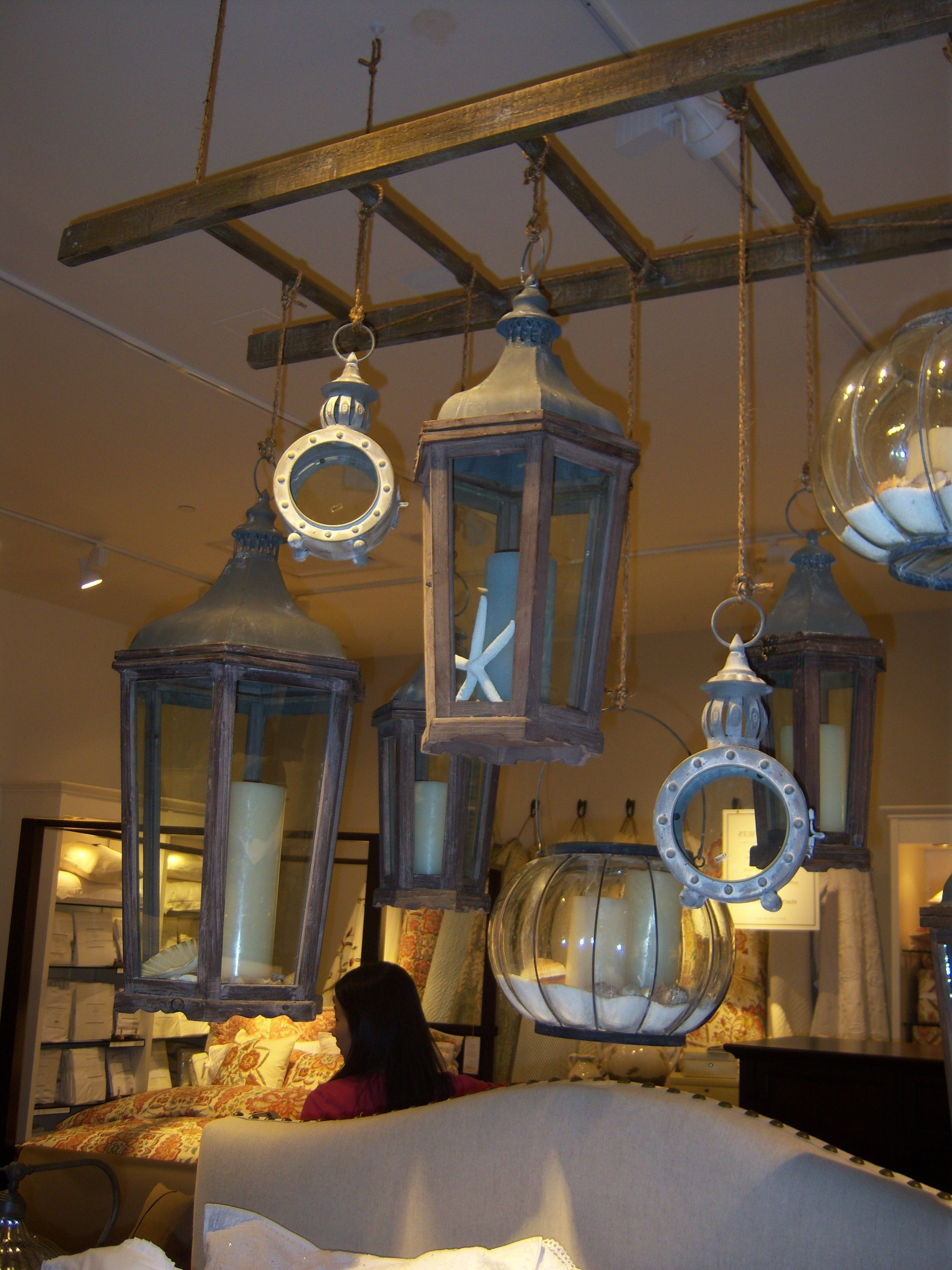 Home Design Pottery Barn Outdoor Lanterns Explore Water Pond And Inside Most Recently Released Outdoor Lanterns At Pottery Barn (View 3 of 20)