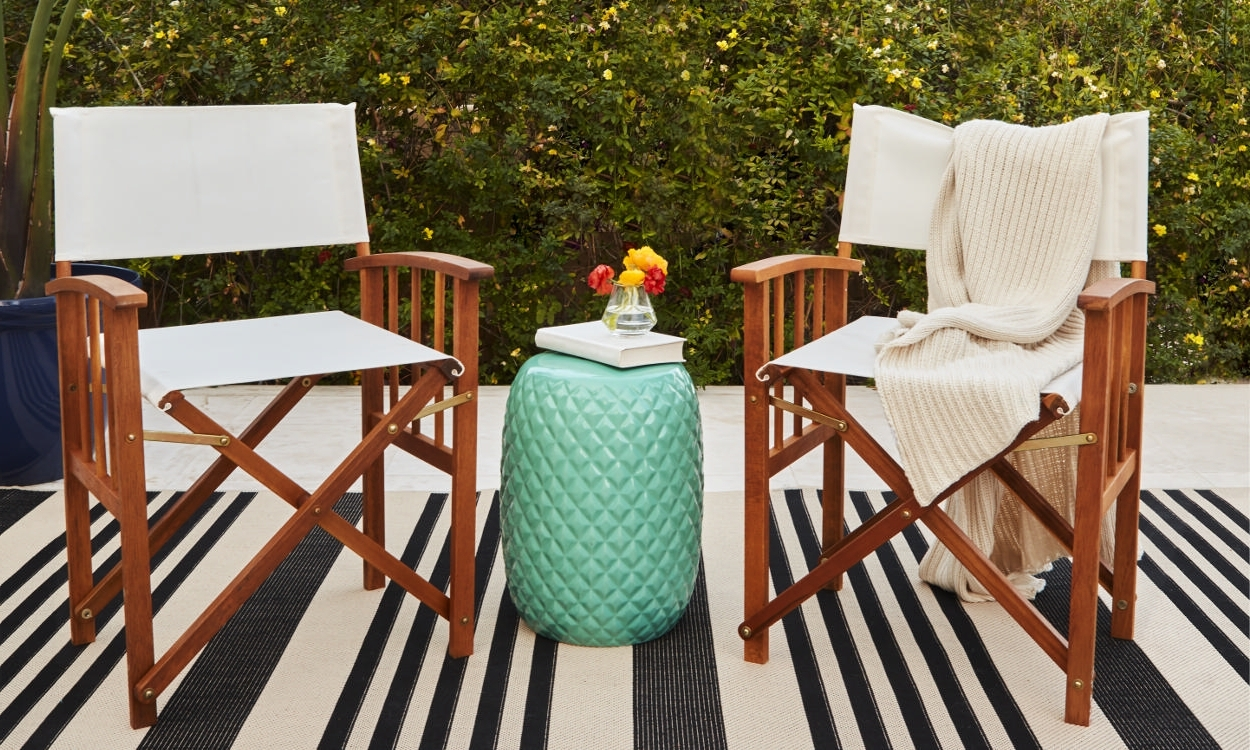How To Choose Patio Furniture For Small Spaces – Overstock Regarding Most Recently Released Patio Umbrellas For Small Spaces (View 7 of 20)