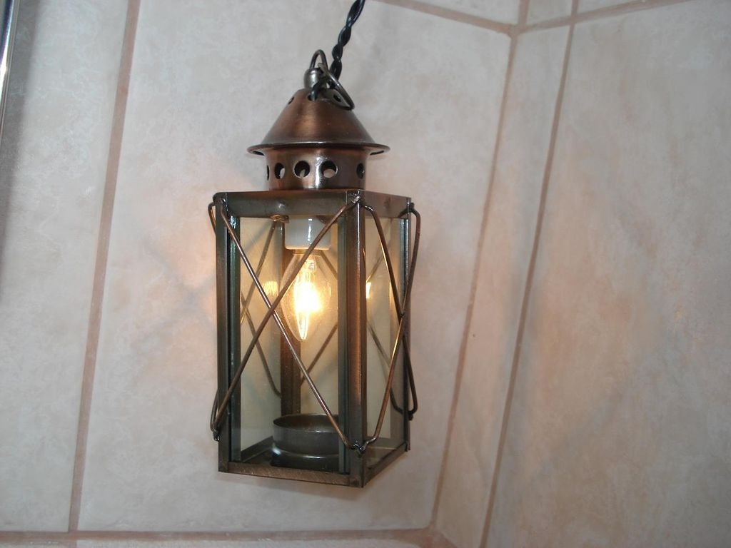 How To Make An Outdoor Electric Candle Light: 6 Steps (With Pictures) Regarding Well Known Large Outdoor Electric Lanterns (Gallery 9 of 20)