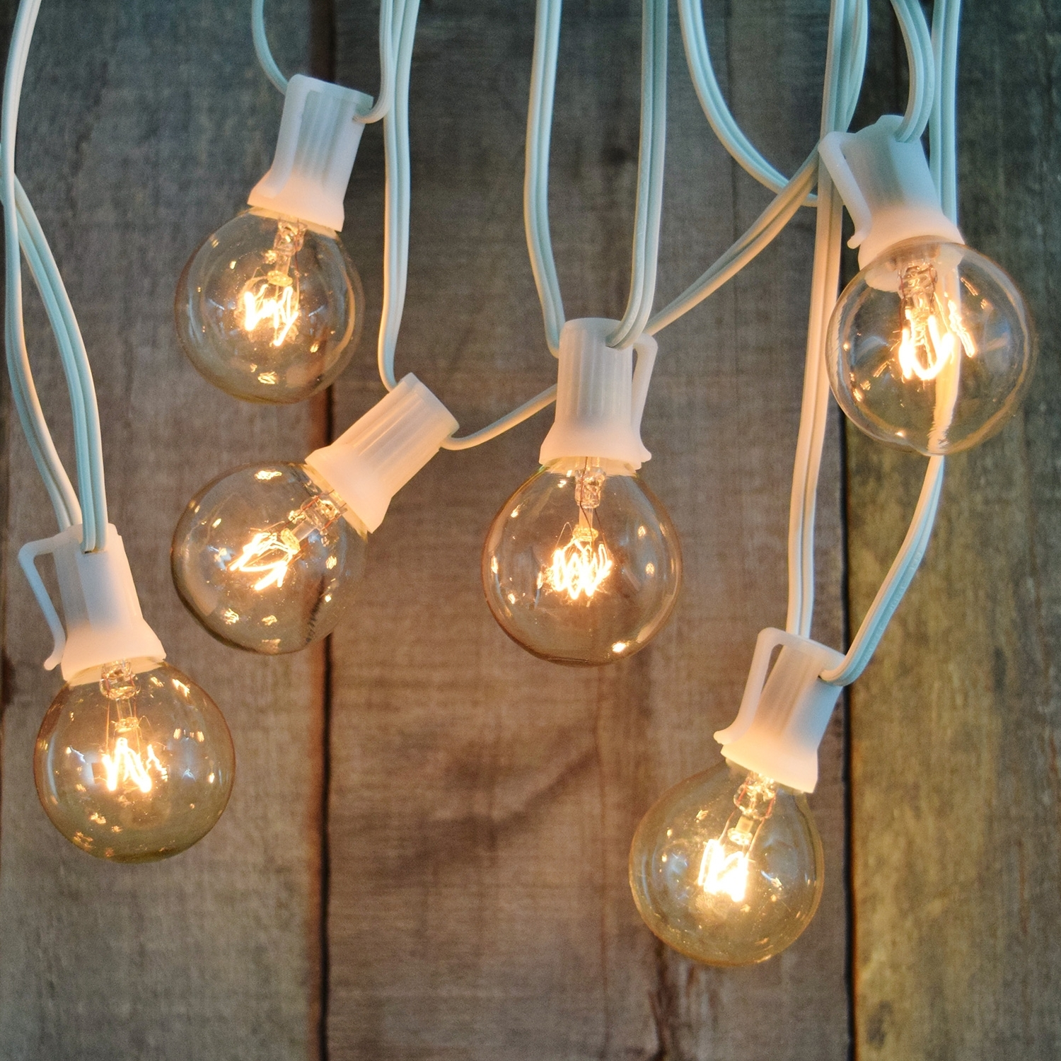 Indoor/dry Outdoor Candelabra Base Globe Party String Light Strand In Current Outdoor Battery Lanterns For Patio (Gallery 11 of 20)