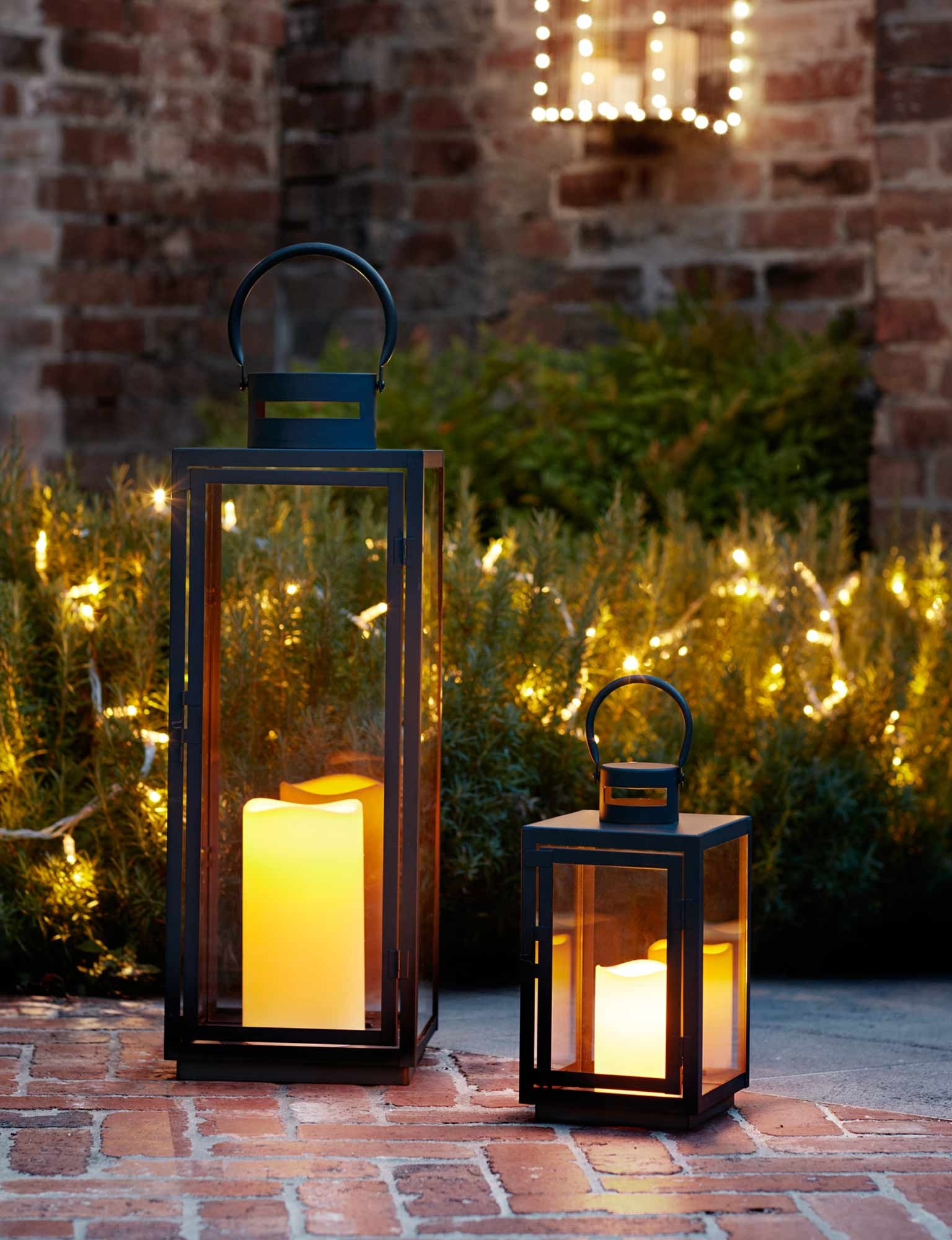 Indoor Outdoor Lanterns Lamp Post Solar Candles Door Ideas Lighting For Most Recent White Outdoor Lanterns (View 6 of 20)