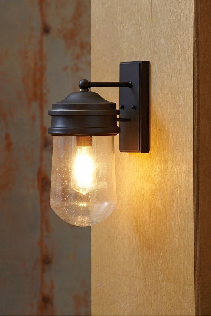 Industrial Outdoor Lanterns Inside Most Recently Released Exterior Industrial Light Elstead Lighting Kichler Lyndon 1 Outdoor (Gallery 5 of 20)
