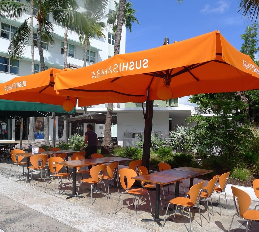 Intended For Widely Used Commercial Patio Umbrellas (Gallery 18 of 20)