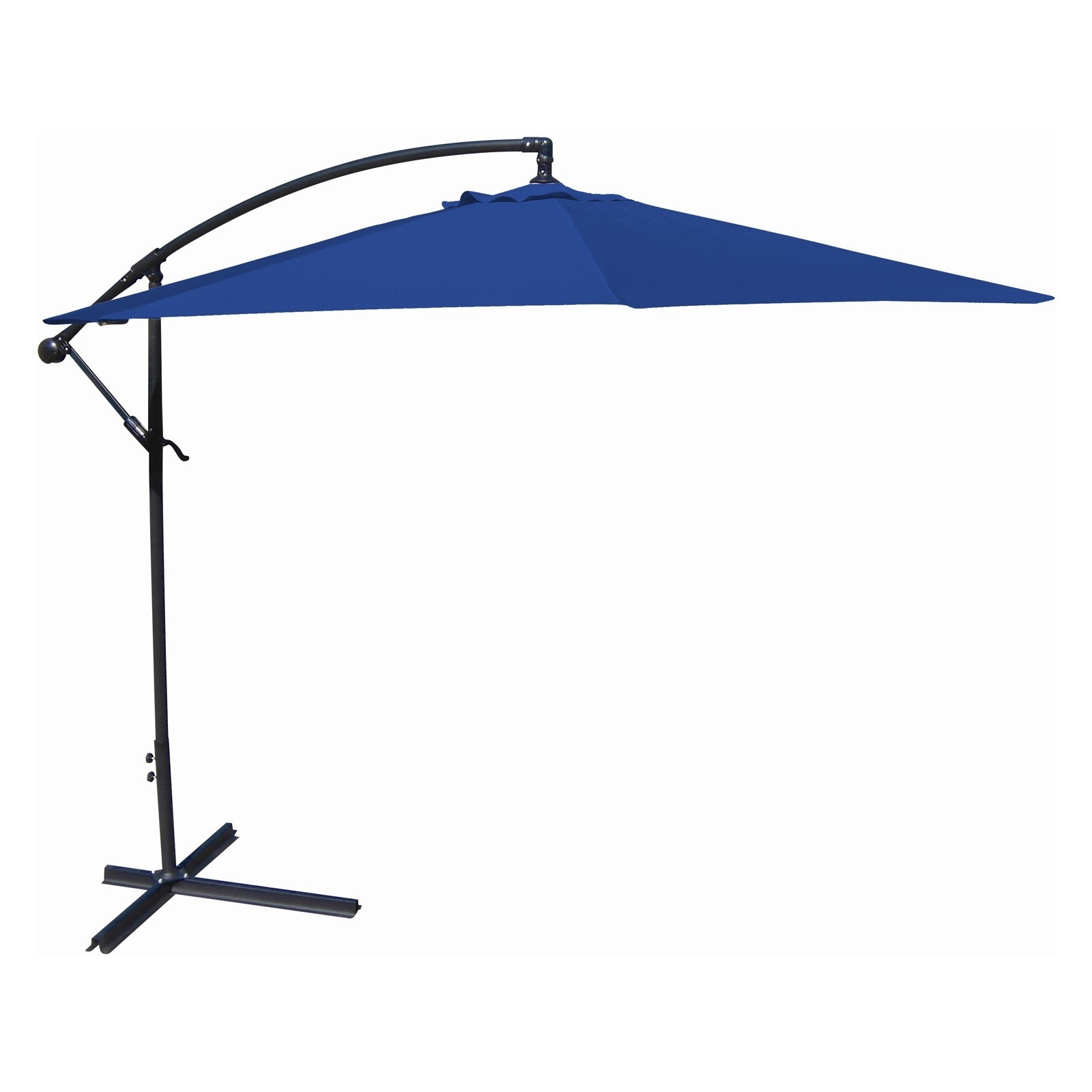 Jordan Manufacturing 10' Offset Umbrella, Multiple Colors – Walmart Intended For Preferred Jordan Patio Umbrellas (View 4 of 20)