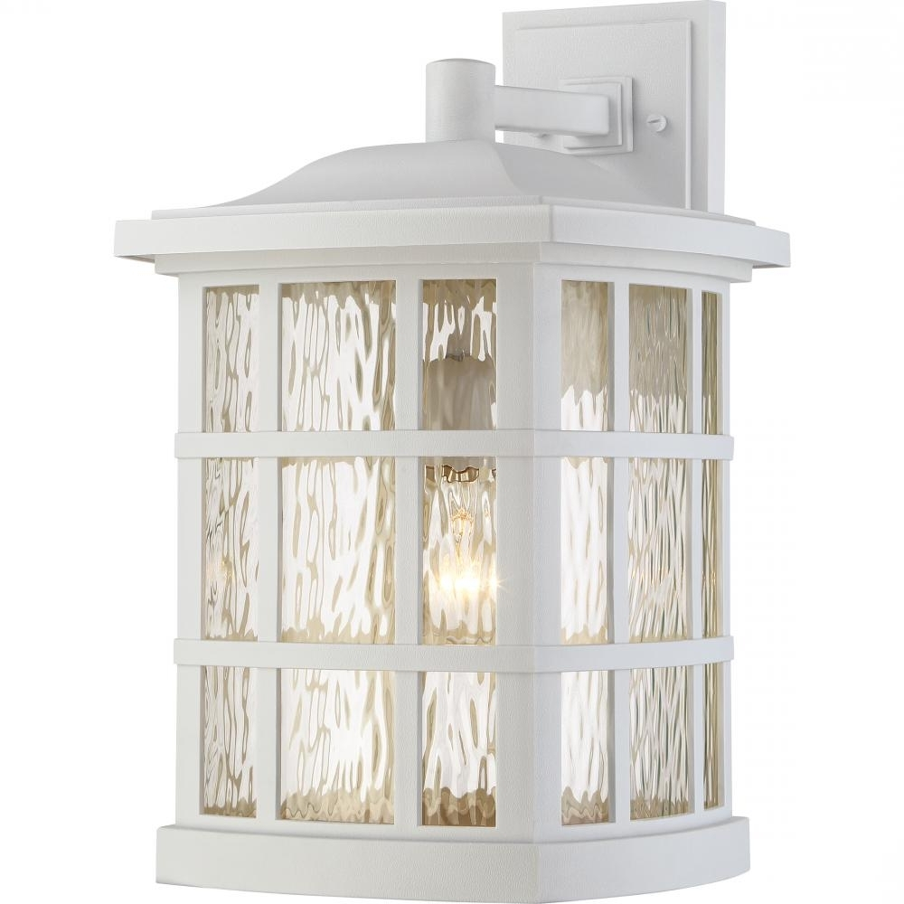 Jumbo Outdoor Lanterns Regarding Newest Stonington Outdoor Lantern : Snn8411W (View 9 of 20)