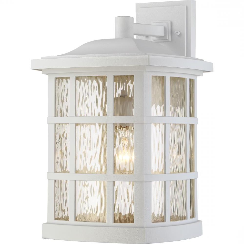 Jumbo Outdoor Lanterns Regarding Newest Stonington Outdoor Lantern : Snn8411w (View 14 of 20)