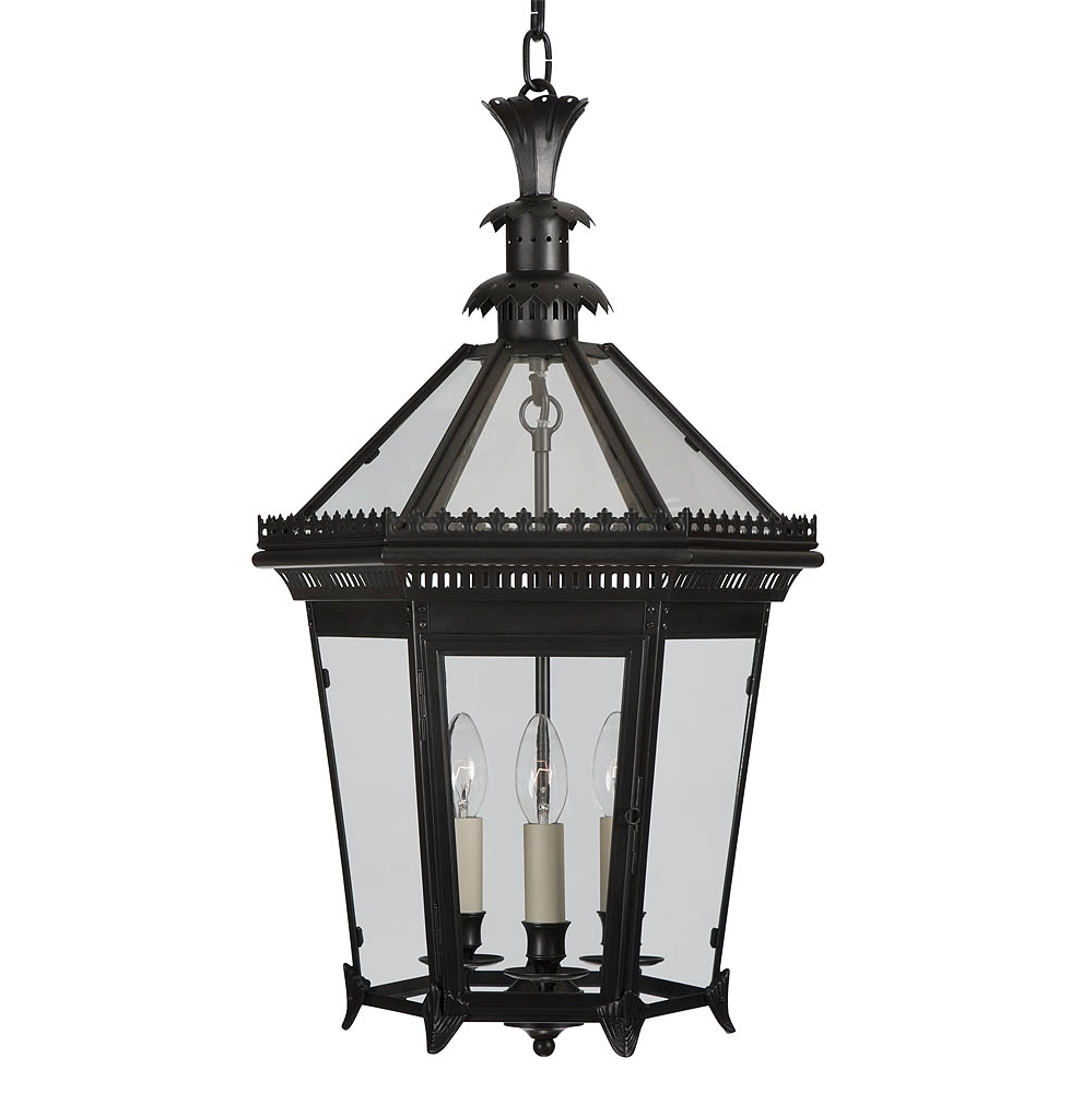 Jumbo Outdoor Lanterns With Regard To 2019 Charles Edwards Antiques – Lamps And Lanterns  King's Road London (View 11 of 20)