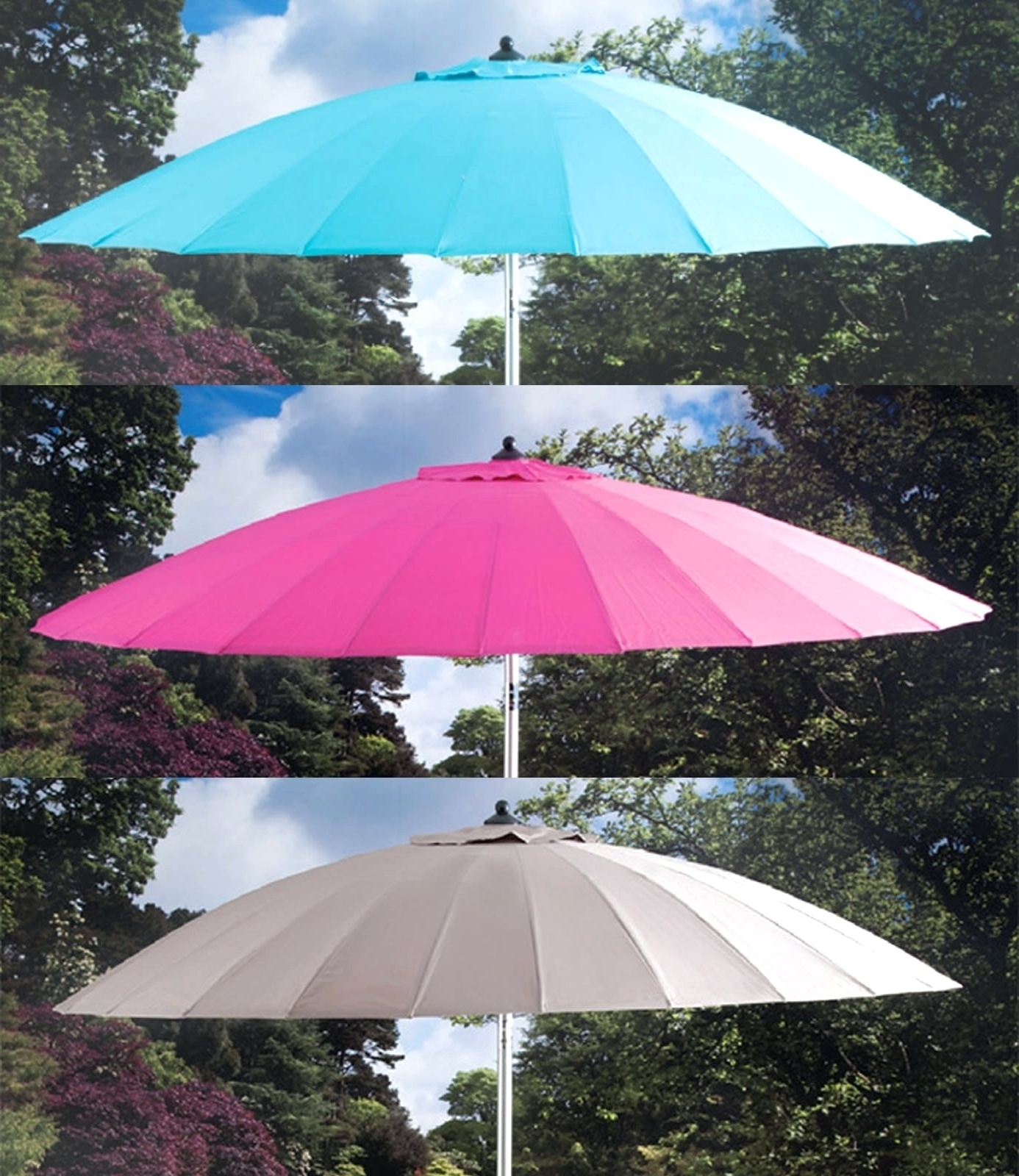 Jumbo Patio Umbrellas Within Favorite Tips: Breathtaking Frontgate Umbrellas For Your Outdoor Space (View 11 of 20)