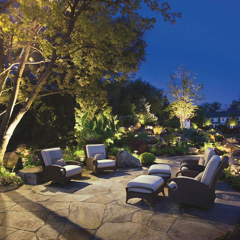 Kichler Outdoor Lanterns Pertaining To Recent Landscape Lighting (View 6 of 20)
