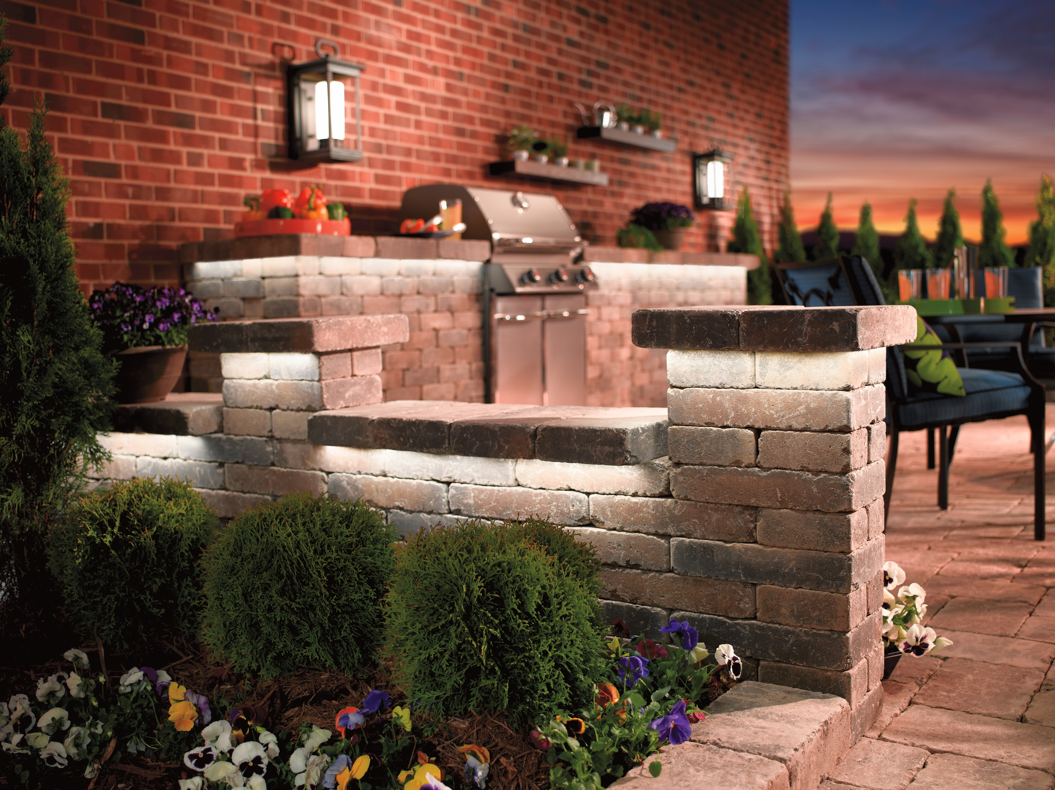 Kichler Outdoor Lanterns With Well Liked Lighting: Kichler Outdoor Lighting With Landscape Flood Lights And (View 11 of 20)