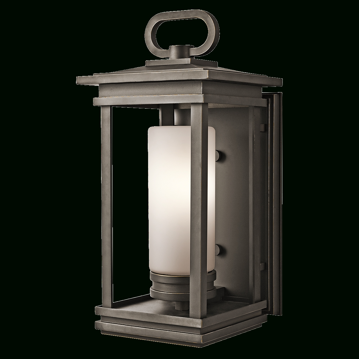 Kichler – South Hope Large Fluorescent Outdoor Lantern In Bronze Inside Famous Kichler Outdoor Lanterns (View 10 of 20)