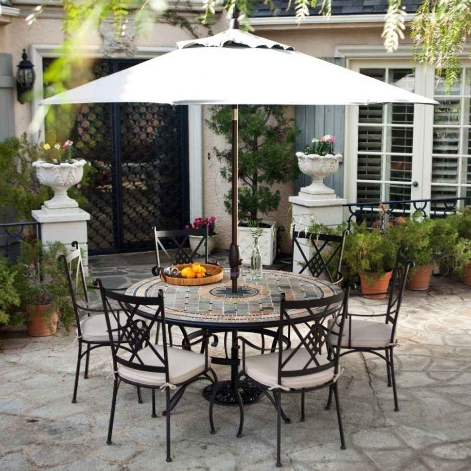 Kohls Patio Furniture Sets Pertaining To Most Recent Kohls Patio Umbrellas (Gallery 2 of 20)