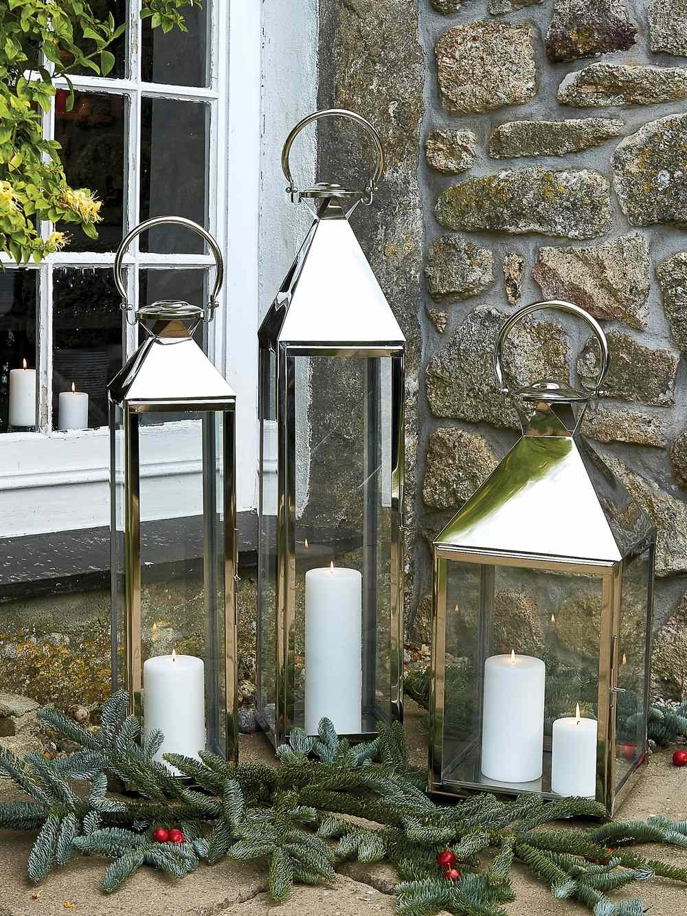 Large Indoor Candle Lanterns In Most Recently Released Outdoor Oversized Lanterns (View 11 of 20)