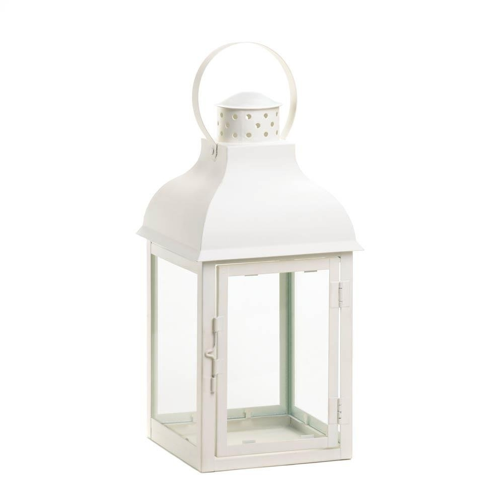 Large Outdoor Lanterns For Famous Large Lantern Lights, Gable White Candle Pillar Decorative Hanging (View 14 of 20)