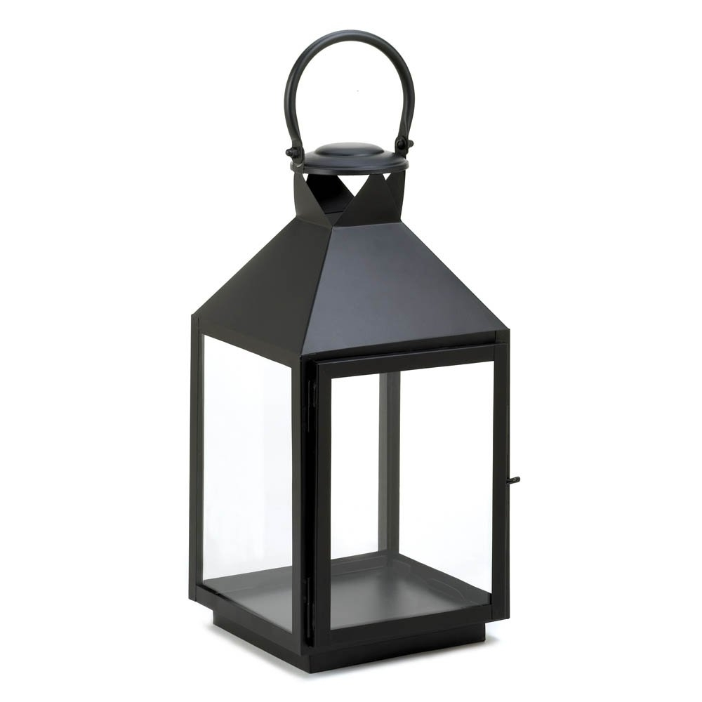Large Outdoor Rustic Lanterns Pertaining To Most Recent Candle Lanterns Decorative, Large Iron Patio Rustic Black Candle (Gallery 15 of 20)