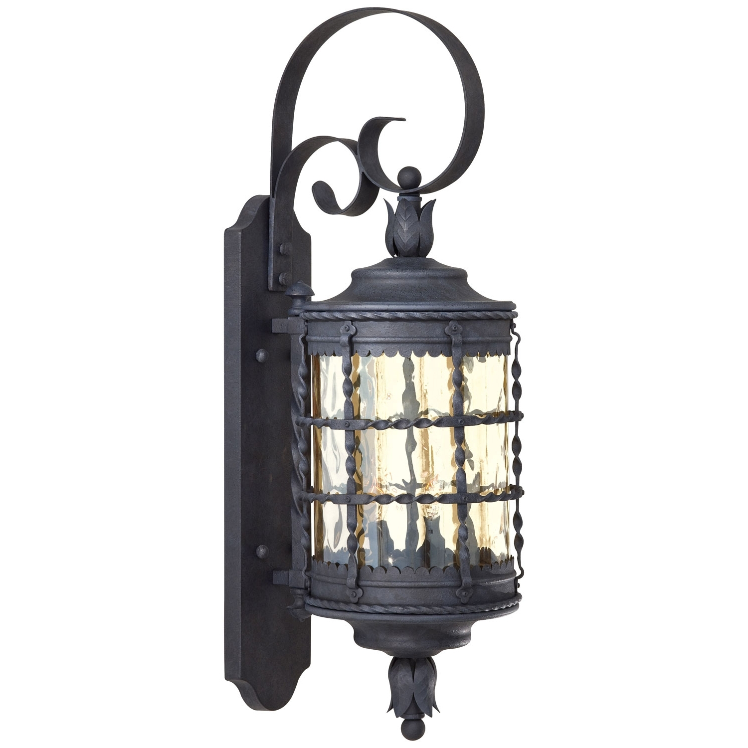 Large Outdoor Wall Lanterns Within Most Popular Minka Lavery Mallorca Exterior Wall Mount 8881 A (View 5 of 20)