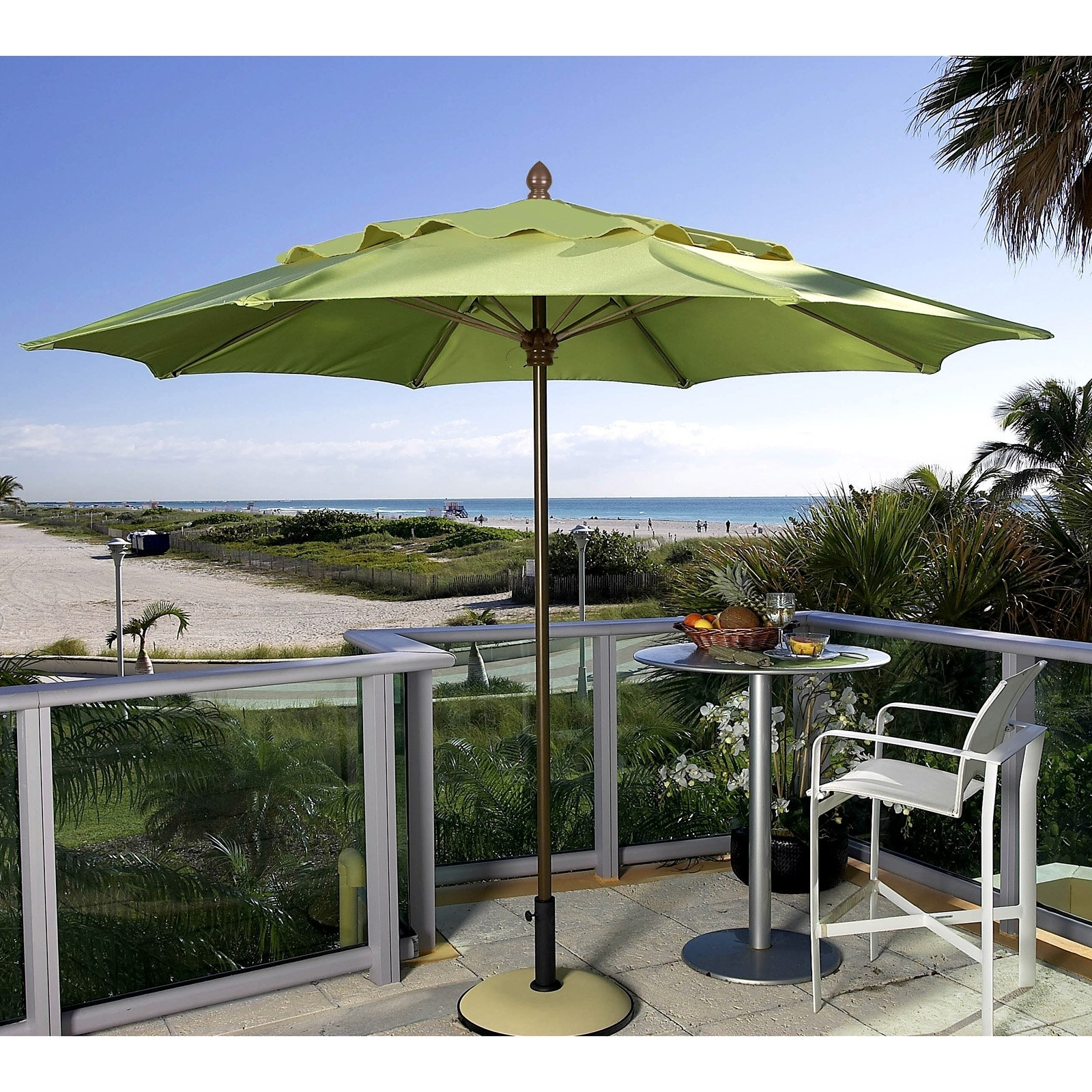 Large Oversized Patio Umbrellas Half For Umbrella Basever Aizi Small With Regard To Newest Half Patio Umbrellas (View 12 of 20)