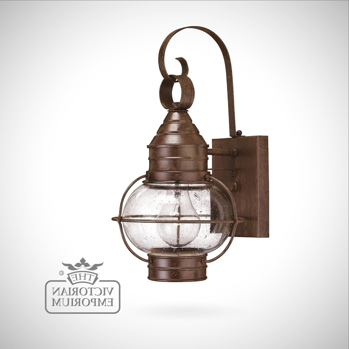 Latest Classic Onion Wall Lantern In Sienna Bronze – Large (View 4 of 20)